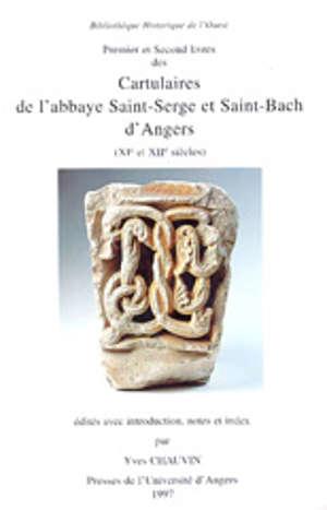 Cartulaires de l'abbaye Saint-Serge et Saint-Bach d'Angers