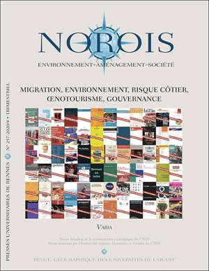 Migration, environnement, risque côtier, œnotourisme, gouvernance