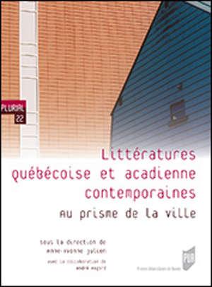 Littératures québécoise et acadienne