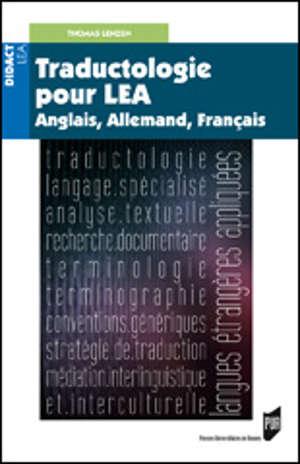 Traductologie pour LEA
