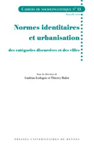 Normes identitaires et urbanisation