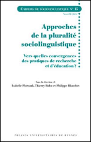 Approches de la pluralité sociolinguistique
