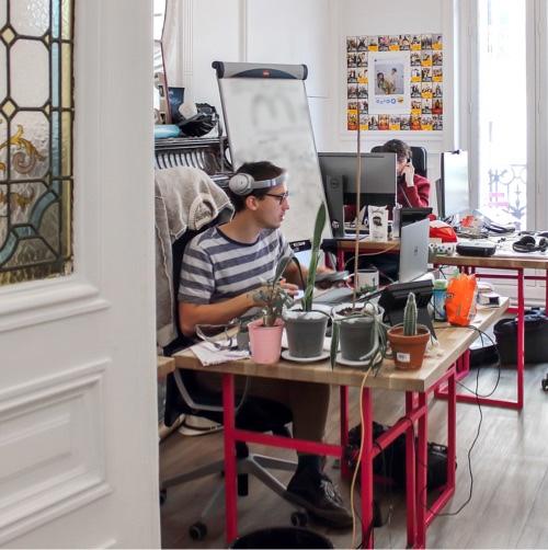 Le bureau de nos collaborateurs
