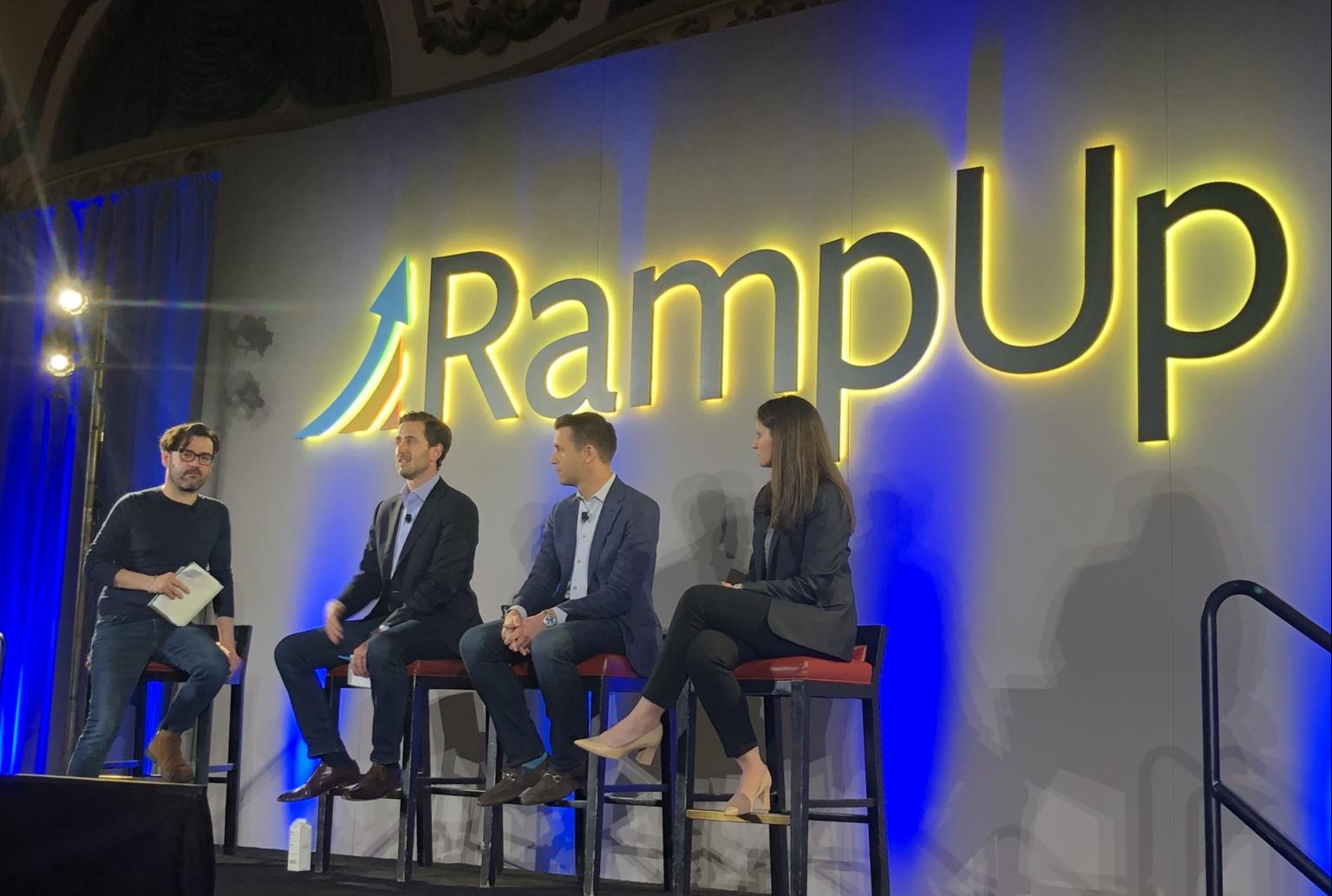Photo of one off the conferences at RampUp SF