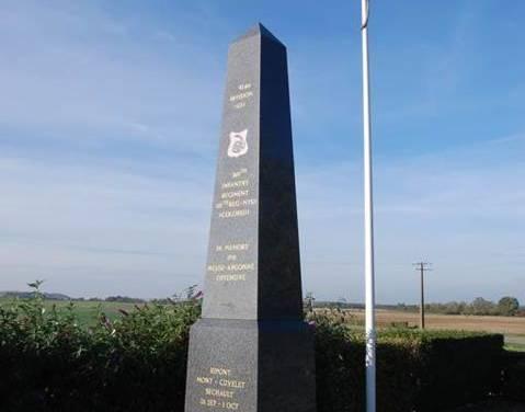 Monument américain du 369ème RI et du 15ème RI de couleur