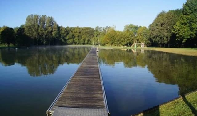 Camping La Samaritaine - le plan d'eau