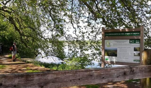 Sentier découverte du Viel-étang de Bairon