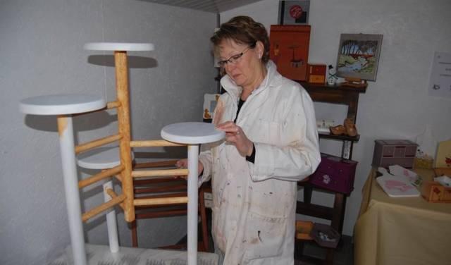 Monique LUBIATO - Atelier de peinture décorative