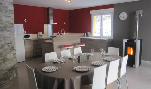 Gîte Stéphanie Balon - la cuisine