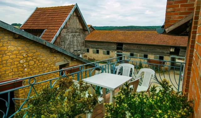 terrasse 2ème coté cour
