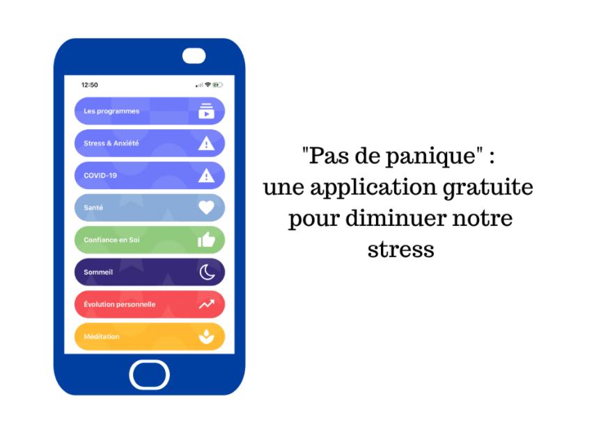 Pas de Panique! - application anti-stress et méditation