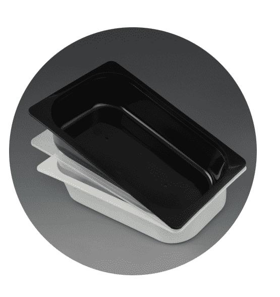 Menu 1/4 gastronorm rectangular