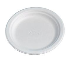 Pratos e Taças Fibra moldada Chinet Branco