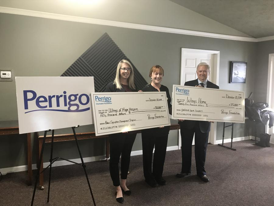 Wings of Hope Hospice and Wings Home donation