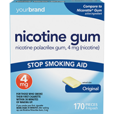 Nicotine Polacrilex Gum, 4 mg (Nicotine) Original