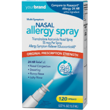 Nasal Allergy Spray Triamcinolone Acetonide Nasal Spray