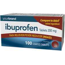 Ibuprofen Tablets, 200 mg
