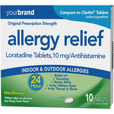 Allergy Relief Loratadine Tablets, 10 mg