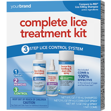 Complete Lice Treatment Kit