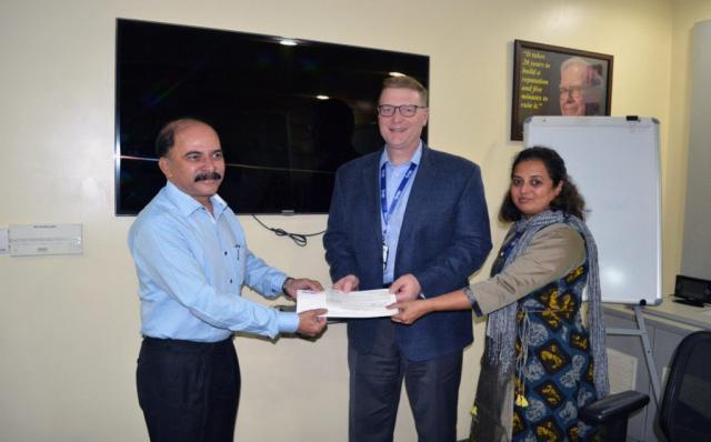 Perrigo India donates