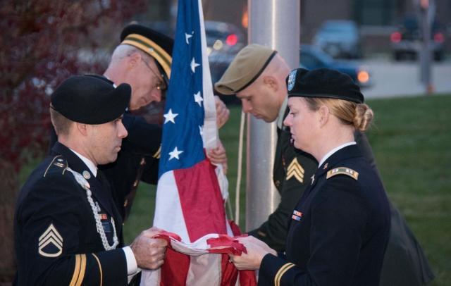 Veterans Day at Perrigo