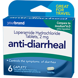 Loperamide Hydrochloride Tablets, 2 mg