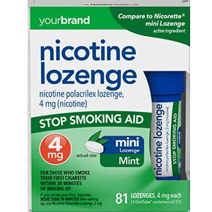 Nicotine Polacrilex Lozenge