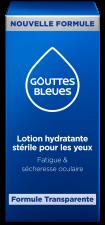 Gouttes bleues
