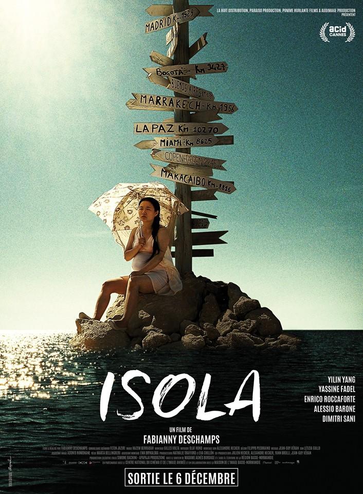 Pomme Hurlante Films - Catalog - ISOLA - Fabianny Deschamps