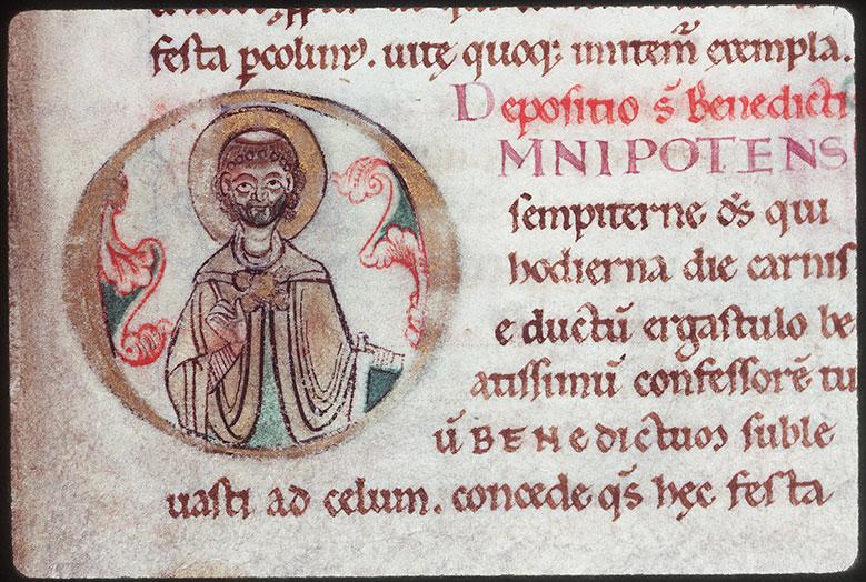 Sacramentaire à l'usage de l'abbaye Saint-Bertin de Saint-Omer
