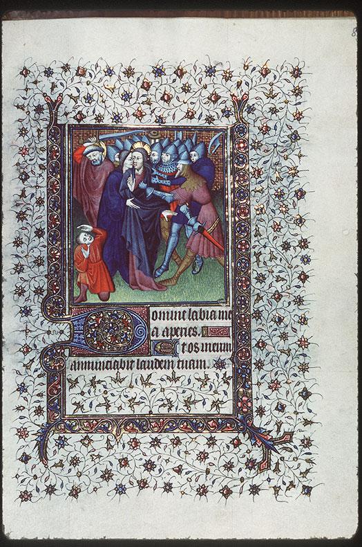 Heures - Baiser de Judas et essorillage de Malchus_0