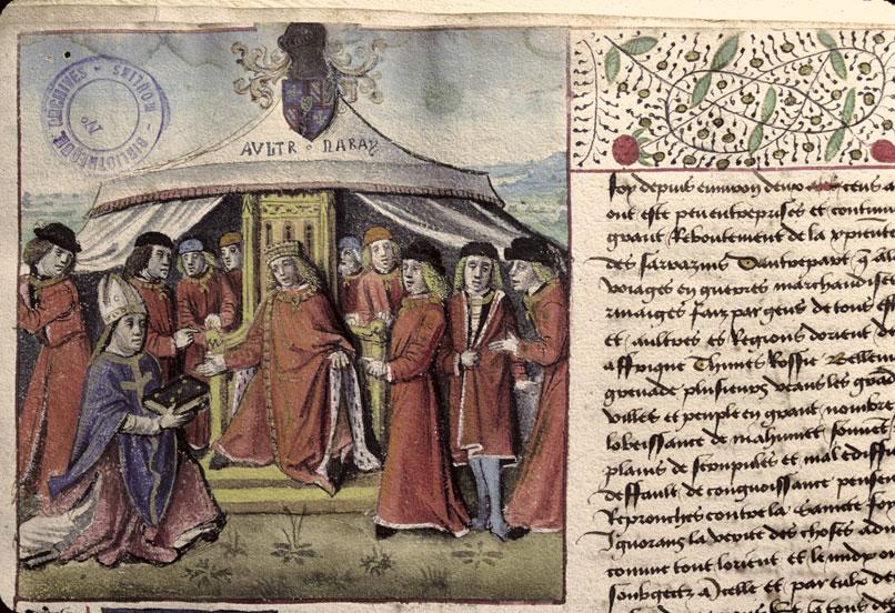 Débat du Chrestien et du Sarrazin