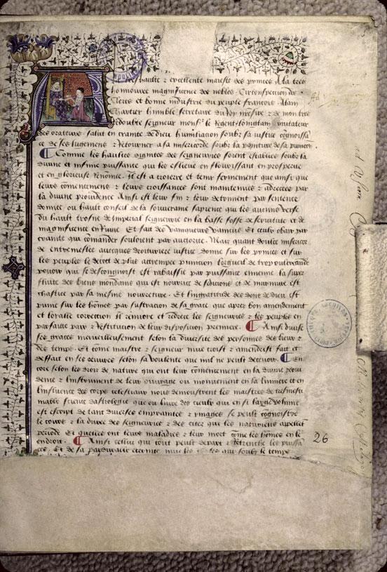 Quadrilogue invectif/Dialogus familiaris amici et sodalis/Curial (Le)