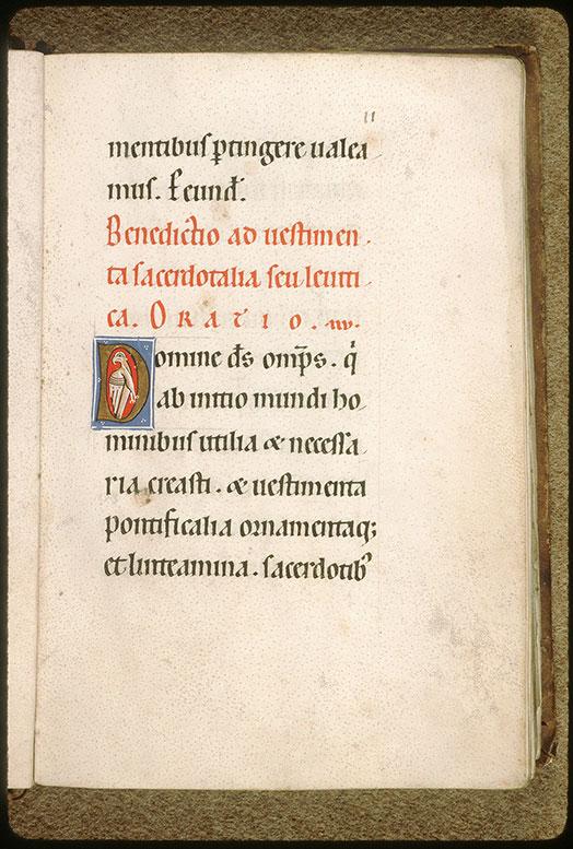 Rituel à l'usage de l'abbaye Saint-André de Villeneuve-lès-Avignon