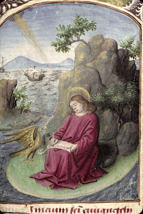 Heures à l'usage de Rome - Saint Jean à Patmos_0
