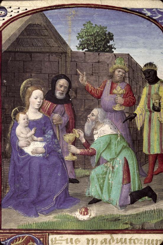 Heures à l'usage de Rome - Adoration des Mages_0