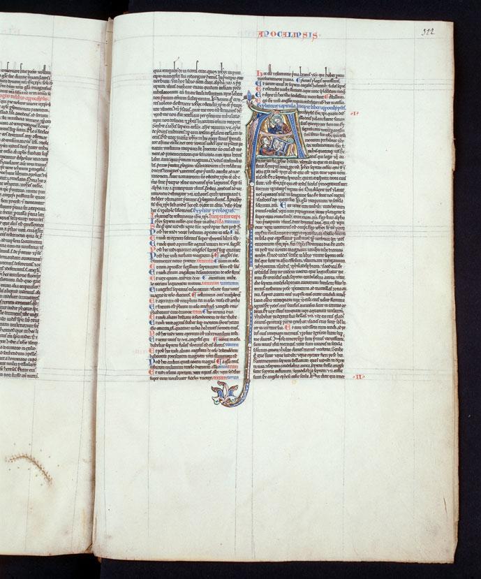 Bible - Saint Jean à Patmos_0