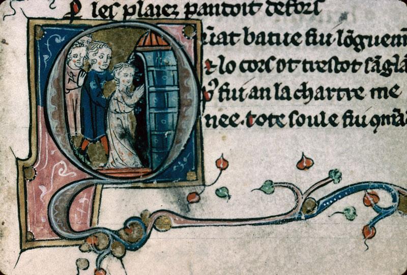 Heures/Vie de sainte Marguerite - Emprisonnement de sainte Marguerite_0