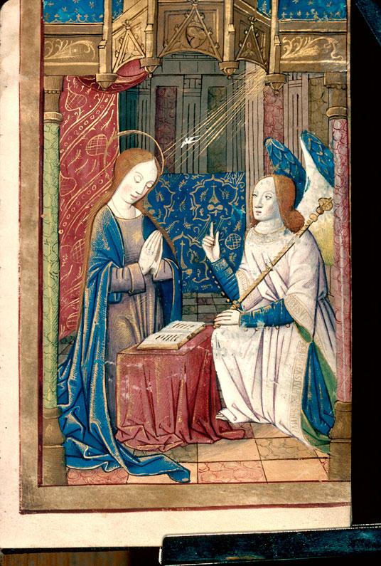Heures à l'usage de Sarum et de Poitiers