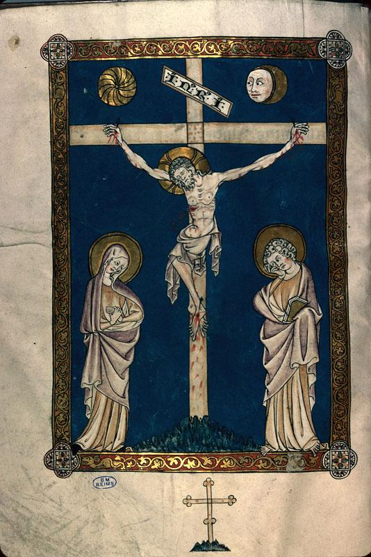 Missel à l'usage de l'abbaye Saint-Remi de Reims