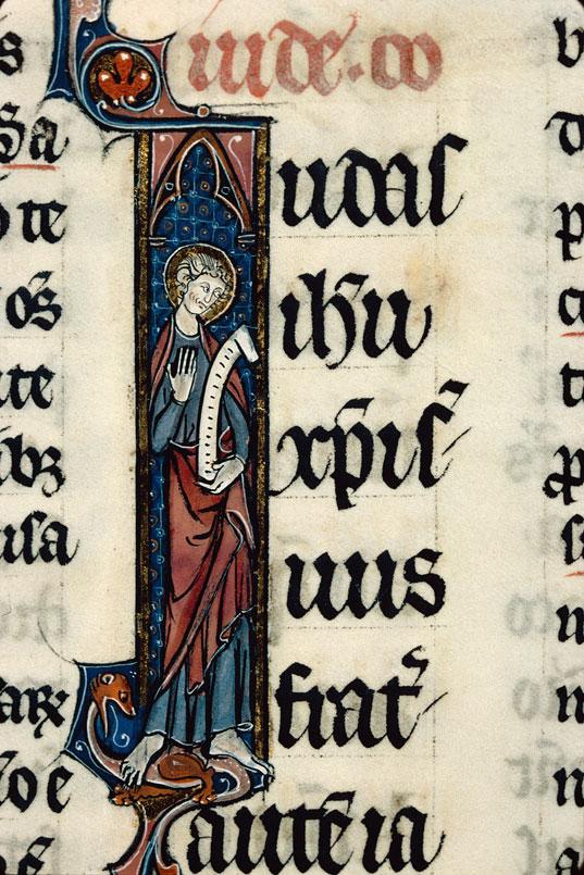 Bible glosée (partie de) - Saint Jude_0