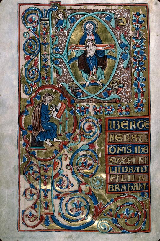 Evangiles à l'usage de l'abbaye de Notre-Dame-aux-Nonnains