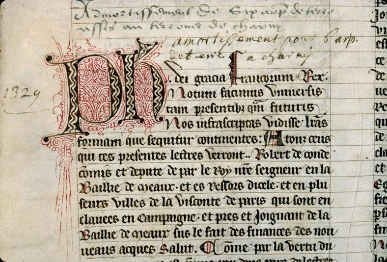 Cartulaire du chapitre cathédral de Meaux