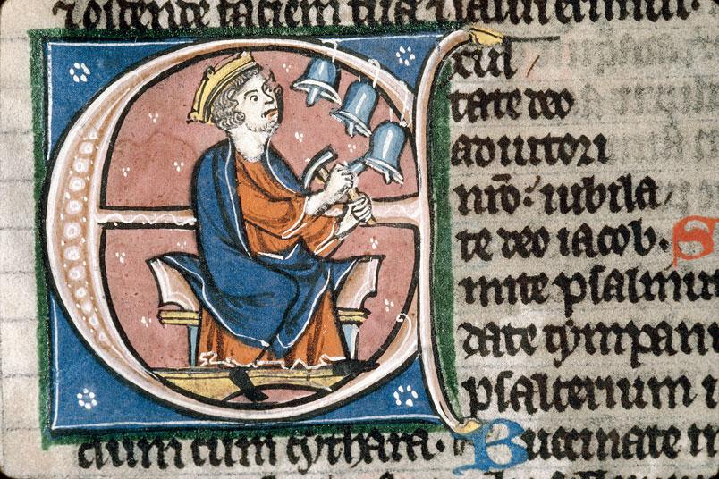 Bible - David jouant des clochettes_0