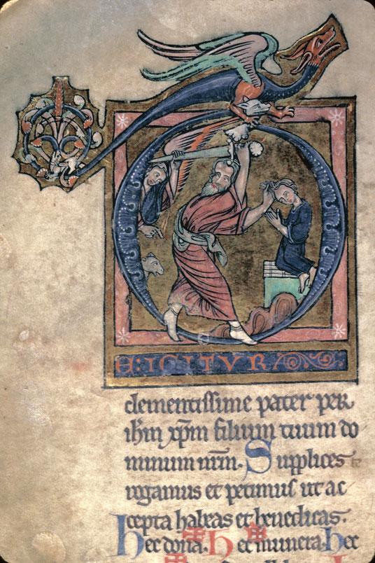 Missel à l'usage de l'abbaye du Mont-Saint-Michel