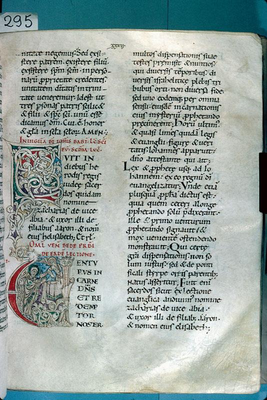 Lectionnaire de l'office de la cathédrale de Reims