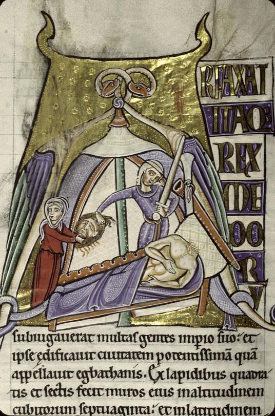 Bible (partie de) - Judith et Holopherne_0