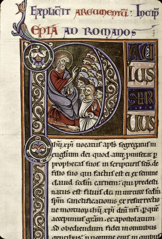 Bible (partie de) - Saint Paul s'adressant à une foule_0