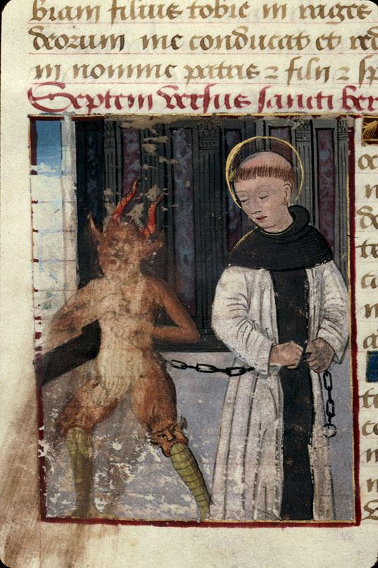 Heures - Tentation de saint Bernard_0