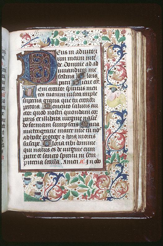Heures à l'usage de Tournai - Page décorée_0